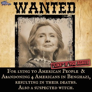 Wanted for lying