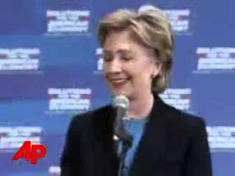 Video Belies Clinton's Bosnia Statements