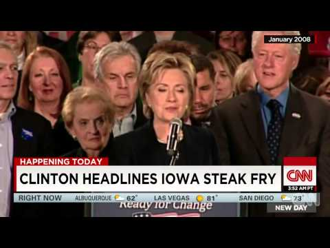 Hillary Clinton headlines Iowa steak fry