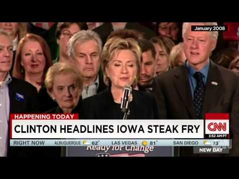 Hillary Clinton headlines Iowa steak fry