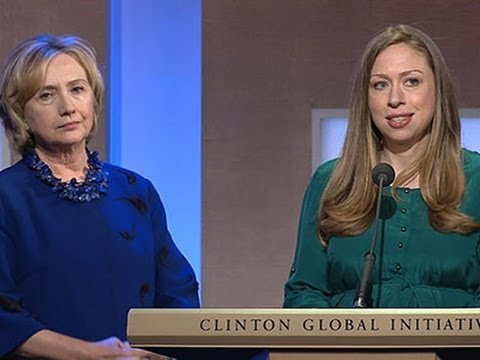 Clintons Call for End to Elephant Poaching