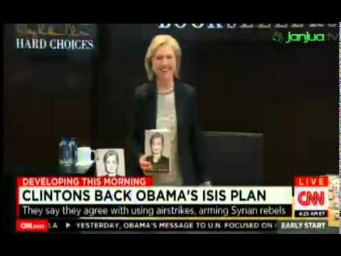 Clintons Back Obama's ISIS Plan; They say they Agree With Using Airstrikes, Arming Syiria Rebels