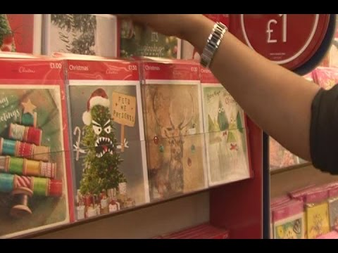 Christmas cards hit the shelves in August