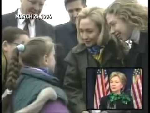 CBS Exposes Hillary Clinton Bosnia Trip. XYZTNEWS