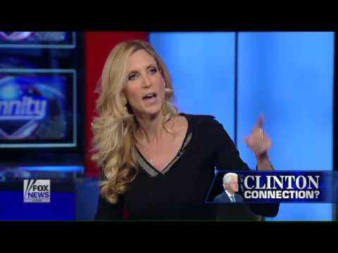 Ann Coulter on Bill Clinton's possible connection to Epstein