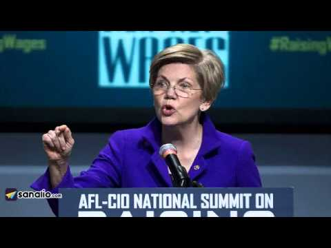 Warren takes a slap at Clintons as Hillary begins staffing up