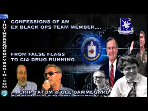 WOW! Confessions Of An Ex-CIA Black Ops Agent with Chip Tatum & Ole Dammegard
