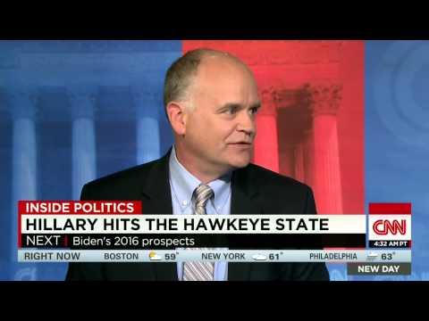 Hillary hits the Hawkeye state